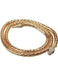 5cf57f90e937 MagiDeal Flexible Bendable Serpent Bijoux Collier Ras Du Cou Bracelet  Écharpe Titulaire Bendy Chaîne Twistable Forme