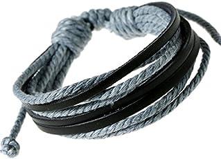 Mens Bracelet Handmade Leather Woven Bracelets Students Han Edition Leather Bracelet (J081) by The Fashion for Sure