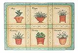 Alice 's Collection–MDF Tischsets mit Kork Rückseite Set 4–40x 30cm