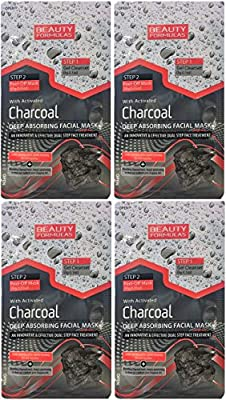 Charcoal Deep Absorbing Facial Mask by Beauty Formulas