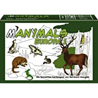 cartas en varios idiomas Adlung Spiele 46129 Manimals Australien Juego de cartas sobre animales de Australia