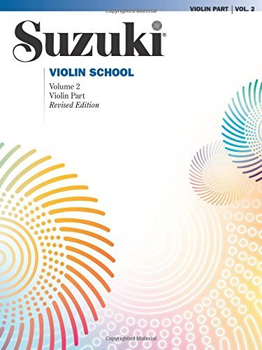 Suzuki Violin School: Volume 2 (Violin Part) (Suzuki Violin School, Violin Part) by Shinichi Suzuki (2007-10-01)