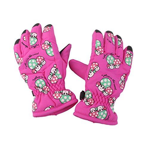 1-Paar-Winter-Warm-Atmungs-2-4-Jahre-Kinder-Kinder-Ski-Handschuhe