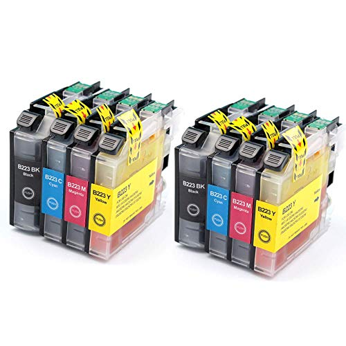 Office Ink Toner ricambio Per Brother LC223 Cartucce d'inchiostro Compatibile Per Brother DCP-J4120DW J562DW MFC-J5320D J480DW J680DW J880DW J4420DW J4620DW J4625DW J5620DW J5625DW J5720DW Stampante