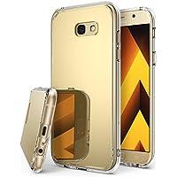 Custodia Samsung Galaxy A3 2017, Ringke [Fusion Mirror] Riflesso luminoso di lusso Radiant specchio Bumper [Shock Absorption Tecnologia] Coperchio di protezione ultra-elegante e sottile per Samsung Galaxy A3 2017 - Royal Gold