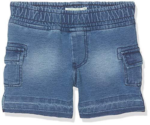 United Colors of Benetton Baby - Jungen Shorts Shorts, Blau (Blu 901), One Size (Herstellergröße: 74) - Herren One Pocket