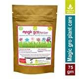 Magic Gro Plant Care ,Certified 100 % Organic plant growth enhancer, (Single pack X 75 gms)