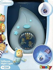 Smoby 3032161101019 - Luz Nocturna para bebé (Pared, Colores Surtidos, Pared, Niños, Habitación de los niños, Niño/niña)