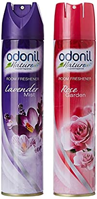 Buy 2 Odonil Room Freshner (Spray lavender and rose)