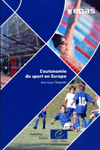 De L'autonomie Du Sport En Europe par Not Available