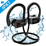 Mpow Auriculares Inalámbricos IPX7, Bluetooth 4.1 Auriculares Deportivos IPX7, A2DP Auricular Deporte Correr Manos Libres, Hi-Fi Estéreo con Micrófono para iPhone 8 / 8Plus, X, 7, 7 Plus,Android.