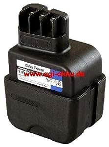 Batterie de rechange compatible avec mETABO pa6–gF35