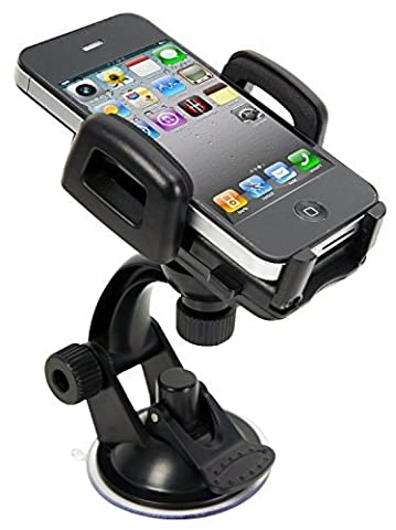 Car Mount Holder Universal Windshield Car Phone Cradle for Apple