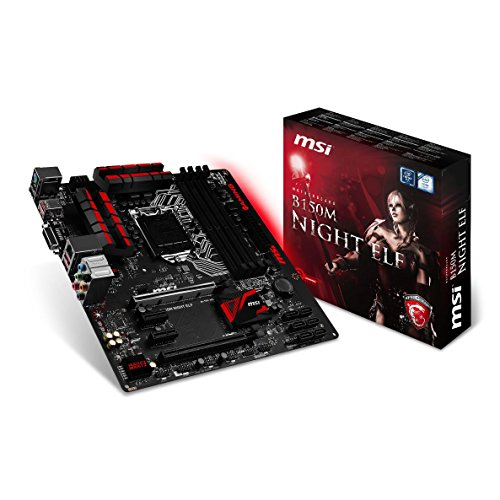 MSI B150M NIGHT ELF 007978-001R Mainboard (Micro ATX, 4x DDR4, 64GB)
