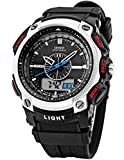 EASTPOLE LED Digital Sport Datum Herrenuhr Armbanduhr Sportuhr Quarzuhr Uhr OHS050