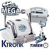 Robot limpiafondos eléctrico piscina dolphin maytronics Mega Timer M-Line