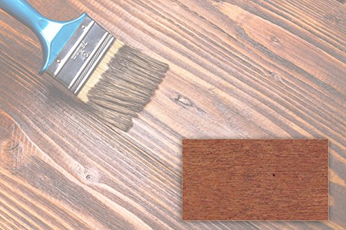 BEKATEQ 2,5L Holzlasur farbig aussen innen für Möbel Gartenhaus   UV-stabil - atmungsaktiv (Teak)