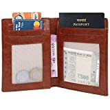 #7: MarkQues Red Travel Passport Holder Wallet (PS-4407)