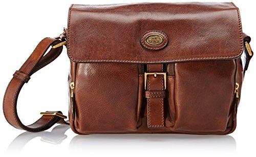 The Bridge Borsa Messenger 04238801-14 Marrone