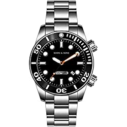 Marc & Sons MSD-026 1000Meter Professional Automatic Diver's Watch