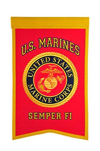 Winning Streak Sports Marine Corps Banner, 45,7x 30,5cm -