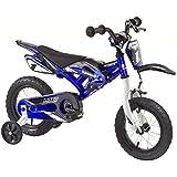 Kinderfahrrad Kawasaki Kids Bike Moto 12 Zoll mit Rücktrittbremse Farbe: Grün oder Blau