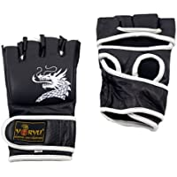 Guantes Yoryu Dragon MMA Grappling negro 4 oz, Nero / Black