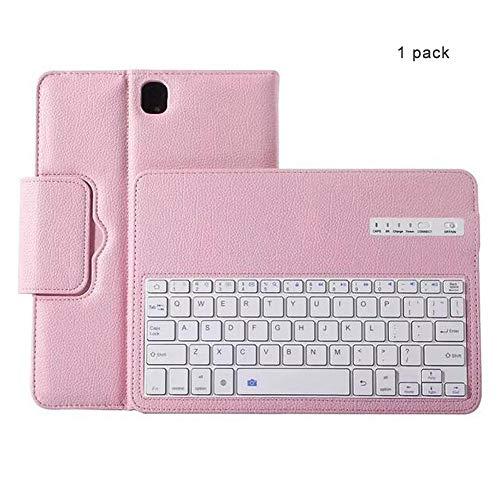 CAPTIANKN Tablet Split Bluetooth Tastatur für Samsung Galaxy 9.7-Inch Tab S3 Mit automatischem Schlaf,pink - Split-tastatur-touchpad