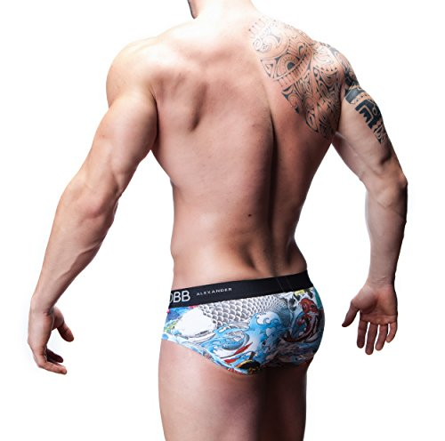 Alexander COBB Alexander COBB-Slip Tattoo Dragon Stampa