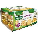 Blédina Mon premier petit pot 2 pots pommes+ 1pot poire + 1pot banane dès 4/6 - ( Prix Unitaire ) - Envoi Rapide...