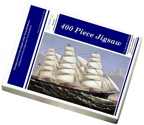 photo-jigsaw-puzzle-of-vintage-print-of-the-clipper-ship-three-brothers