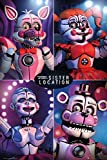 Close Up Five Nights at Freddy's Poster Sister Location Quad (61cm x 91,5cm) + 1 Traumstrand Poster Insel Bora Bora Zusätzlich