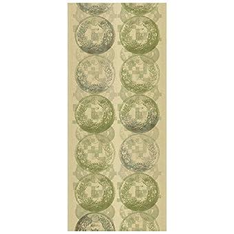 jannelli & zorros–Panel Magnolia 5156J & V 751Zen H300X L130abstracto dorado y amarillo