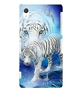 PRINTSWAG TIGER Designer Back Cover Case for SONY XPERIA Z2
