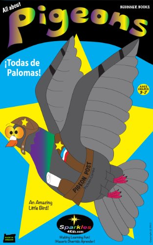 ALL ABOUT PIGEONS ~ Todas de Palomas (Spanish & English) por Sparkles 4 Kids