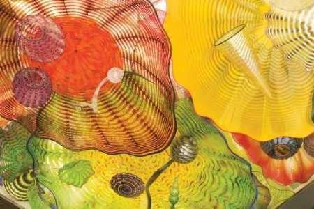 Feeling-at-home-Kunstdruck-Peach-Season-II-cm101x152-Poster-fuer-Rahmen (Dale Chihuly Glas)