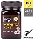 Miel de Manuka brut 100% UMF 10+ plus fin de New Zealand Honey Co. | 500g | Le plus rare des manuka au miel sauvage de l'île du Sud | Sans OGM, sans antibiotiques, sans additifs, qualité garantie