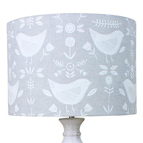 Pantalla para lámpara de mesa de 30 cm de diámetro x 21 cm de alto ...
