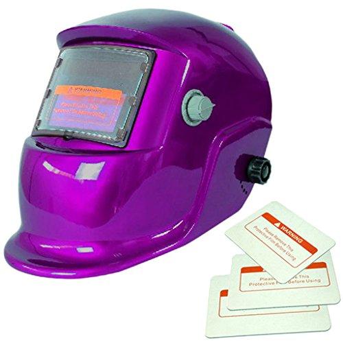 945532e4549c37 Solaire Energie Auto-assombrissement Casque de Soudage Bouclier Soudure  Goggle Masque Protection Complète Yeux Visage
