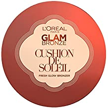 L'Oreal Paris Polvo Bronceador Glam Bronze Cushion Soleil
