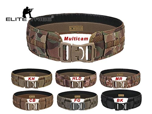 Combat MOLLE UTILITY Load Bearing Tactical Gürtel Multicam Black