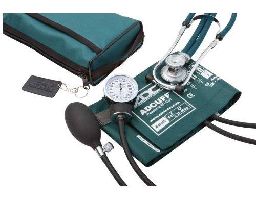 American Diagnostic 768-641-11ATL Pro's Combo II SR - Kit de aneroida/escopio para adulto con esponjoso...