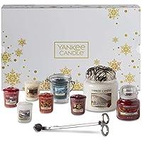 Coffret cadeau de Noël Yankee Candle avec bougies parfumées et accessoires, coffret de 11 pièces