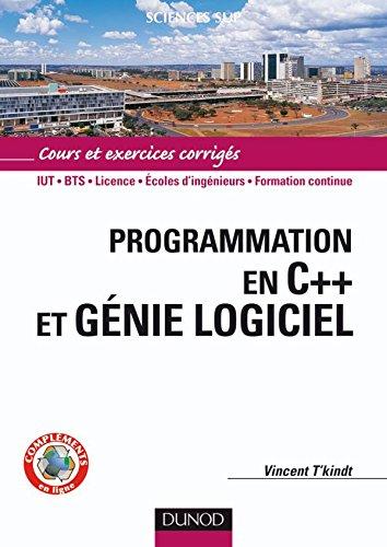 Programmation en C++ et génie logiciel - Livre+compléments en ligne