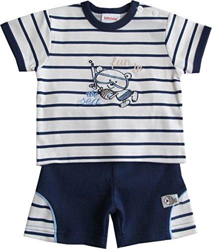 Schnizler Fun in the Sea mit T-Shirt und Shorts - Set De Vêtements Garçon, Bleu (original 900), 56 Schnizler