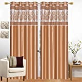 Hand Tex Set of 4 Pcs Patch Eylet Door Curtain 7 ft Ad010 Amazon Rs. 1799.00