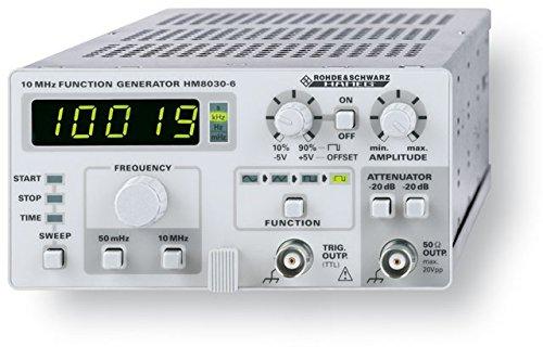 Rohde & Schwarz HM8030-6 HAMEG - Generador funciones