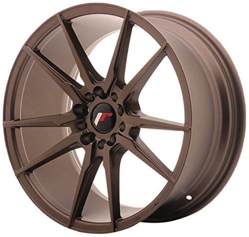 JAPAN Racing JR21 Matt Bronze 8.5 x 18 eT35 5 x 100/120 jantes en alliage