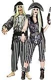 Parejas Mujer Y Hombre Ghost Muerto Pirata Zombie Disfraces Traje Halloween Trajes Talla L