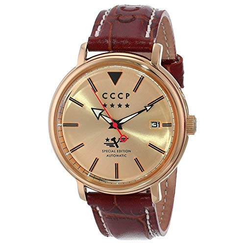 CCCP HERITAGE Leather Watch - CP-7020-03